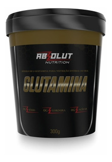 Glutamina Absolut Nutrition 300g
