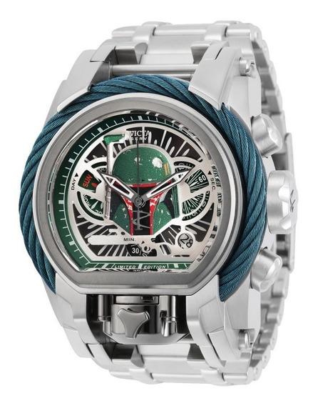 Relógio Invicta 29535 Star Wars Boba Fett + Edição Limitada + Nf