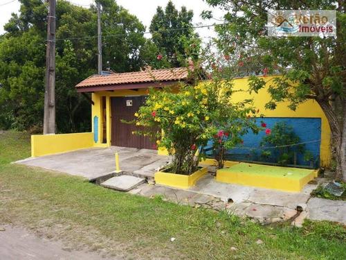 Imagem 1 de 19 de Casa Com 2 Dormitórios À Venda, 144 M² Por R$ 280.000,00 - Estância De Santa Cruz - Itanhaém/sp - Ca0868