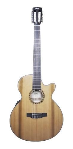 Promocion Guitarra Electroclasica Cort Natural Eq-fishman