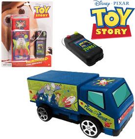 Carro Com Controle Remoto Com Fio A Pilha Toy Story