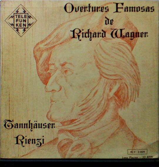 Tannhauser Rienzi Lp Richard Wagner Overtures (1813 - 1883)
