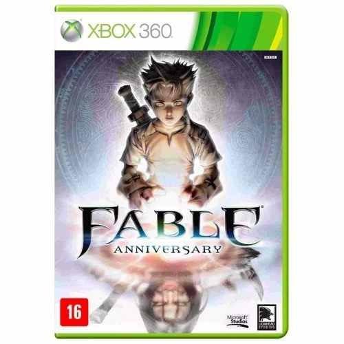 Jogo Fable Anniversary Xbox 360 Novo Lacrado