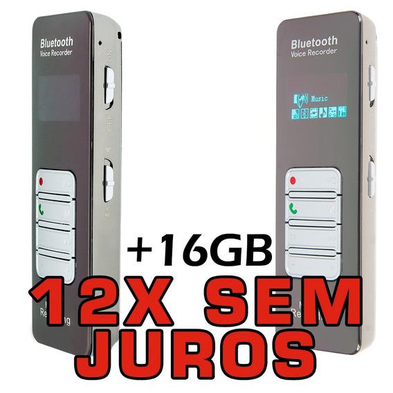 Mini Som Portatil Gravador Digital De Voz Grampo Telefonico