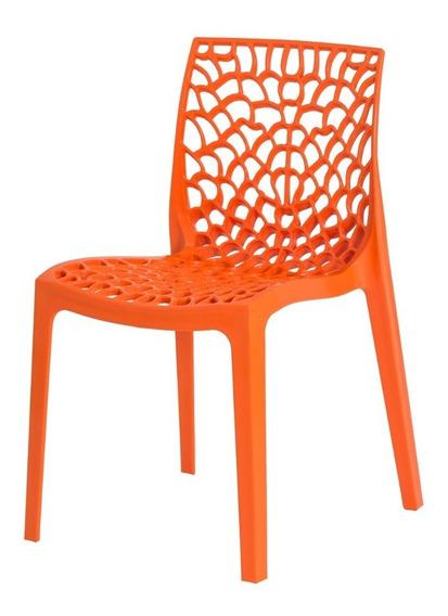 Cadeira Cozinha Gruvyer Design Empilhável Com Inmetro