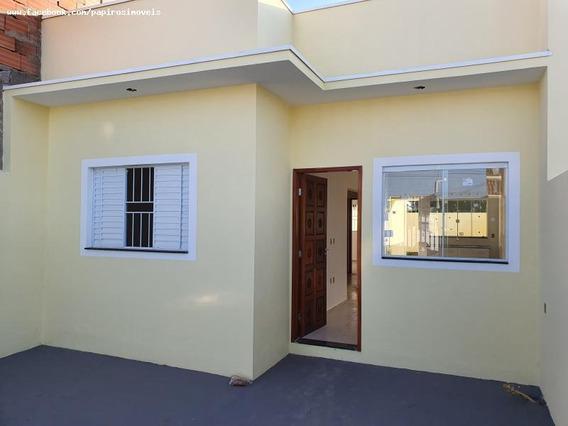 Casa Para Venda Em Tatuí, Jardim Santa Rita De Cássia, 2 Dormitórios, 1 Banheiro, 2 Vagas - 539_1-1389338