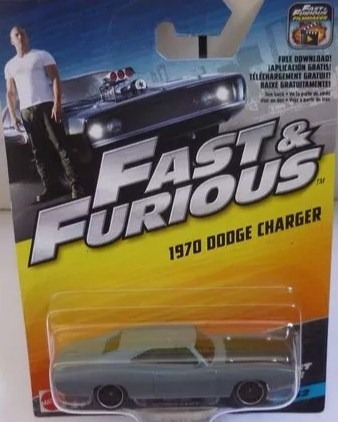 2016 Hot Wheels Velozes E Furiosos 09/32 1970 Dodge Charger