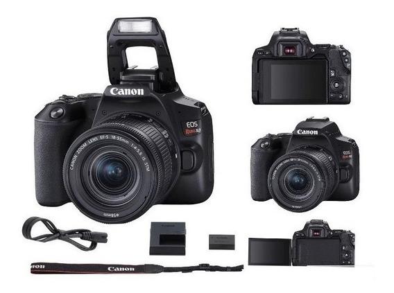Câmera Canon Sl3 18-55mm Is Stm 4k Wifi Garantia Oficial Nfe
