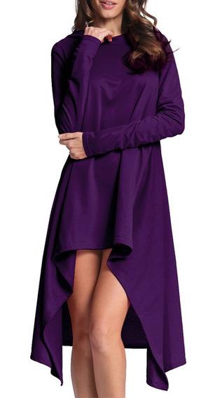 Las Mujeres Sudaderas Con Capucha Vestido De Camisa Larga As