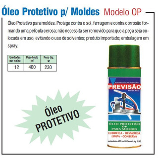 Cx 12 Latas Oleo Protetivo P Moldes De Injeção Plastica Op