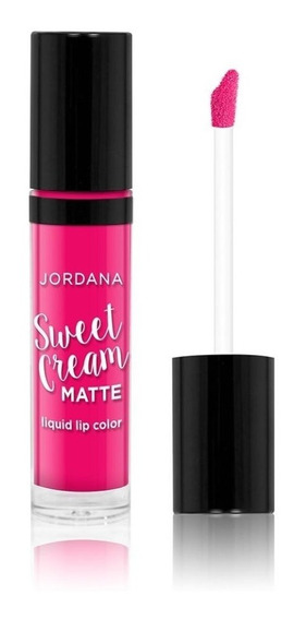 Jordana Labial Matte Sweet Cream Raspberry Tart