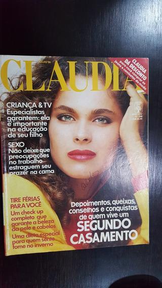 Revista Claudia N° 298 De 1986