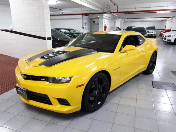 Chevrolet Camaro 6.2 Ss V8 Amarelo 2015 Baixo Km
