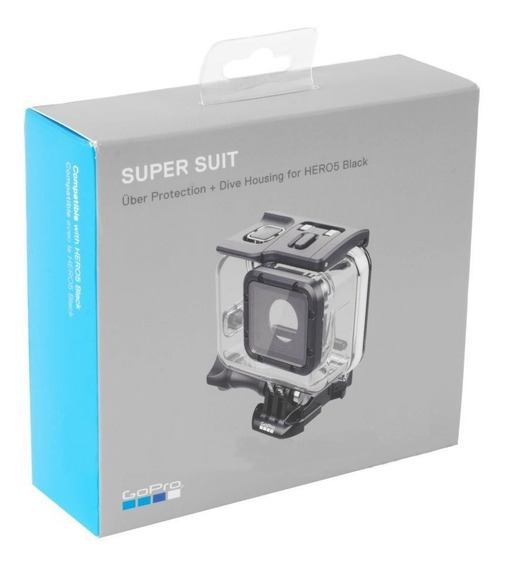 Caixa Estanque Hero5 Black Ou Hero6 - Super Suit - Gopro