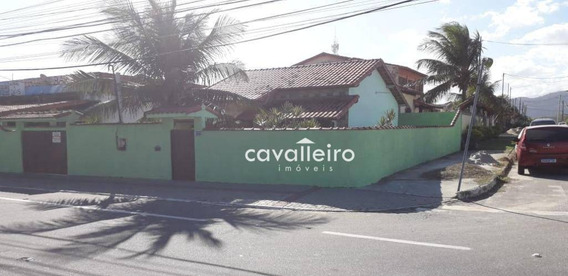 Casa Com 2 Dormitórios À Venda Em Cordeirinho (ponta Negra) - Maricá/rj - Ca4317