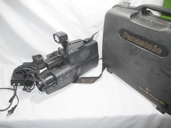 Antiga Filmadora Panasonic Vhs Omnimovie