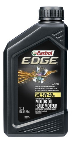 Imagen 1 de 1 de Aceite Castrol Edge 5w40