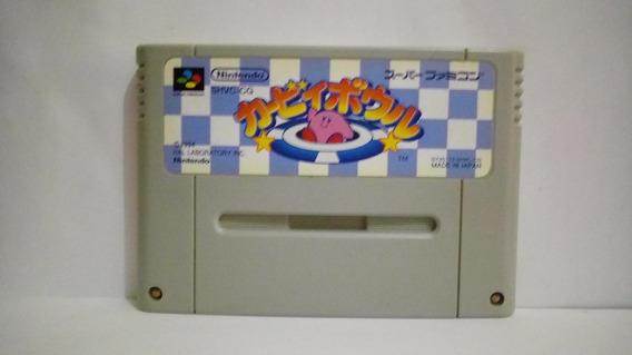 Kirby Dream Course Bowl - Super Famicom - Original