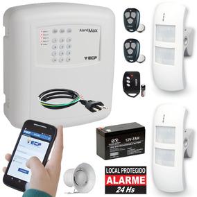 Kit Alarme Casa Comercial Externo Gsm Celular 2 Sensores