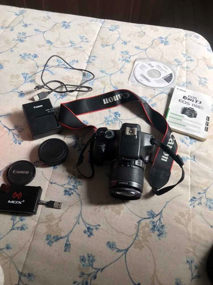 Câmera Canon Rebel T3 Ef-s 18-55 Is Ll Kit