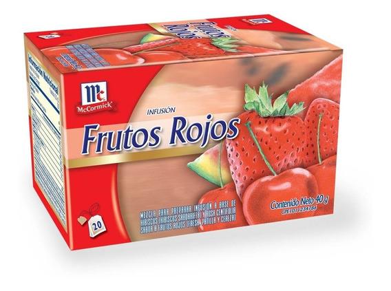 Infusion Frutos Rojos Mccormick De 20 Bolsitas