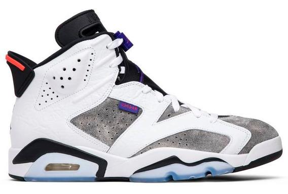 Tenis Nike Air Jordan 6 Retro Ltr Originales Nuevos N Caja