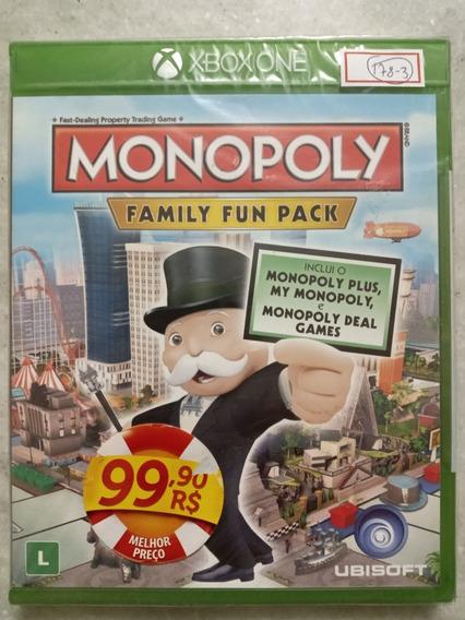 Jogo Xbox One Monopoly Legendado Em Português
