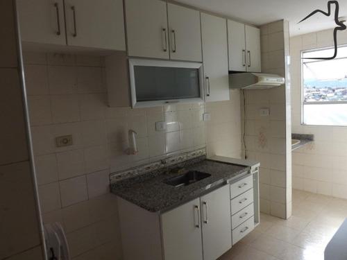 Imagem 1 de 14 de Belo Apartamento Com 2 Dormitórios. Sala, Cozinha, Wc E 1 Vaga . - Ap01082 - 68652983