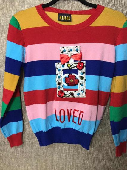 Sweater Love De Colores