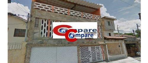 Sobrado Residencial À Venda, Jardim Terezópolis, Guarulhos - So1455. - So1455