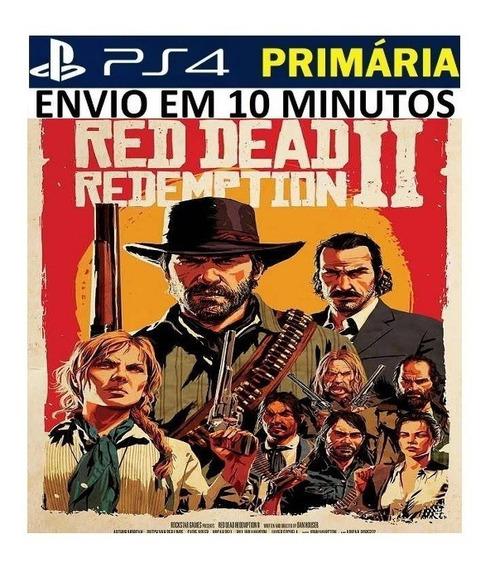 Red Dead Redemption 2 Rdr2 Ps4 Original1 Vitalício Português