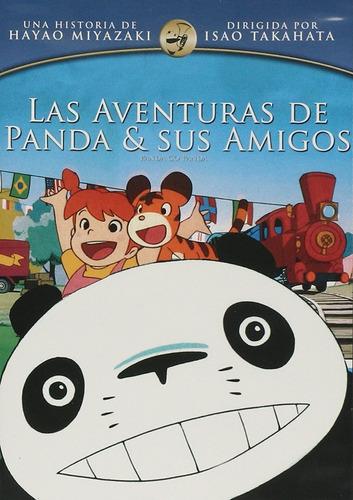 Las Aventuras De Panda Y Sus Amigos Pelicula Dvd