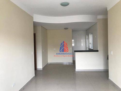 Imagem 1 de 16 de Apartamento Com 2 Dormitórios Para Alugar, 65 M² Por R$ 1.200,00/mês - Nova Americana - Americana/sp - Ap1568