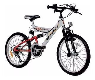 Bicicleta Halley 16335 Mtb Rodado 20 Varon Full Suspension
