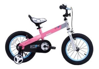Bicicleta Royal Baby Buttons Aluminio Rod 12 - Star Cicles