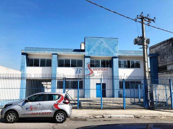 Galpão Industrial Para Locação, Jardim Independência, São Paulo. - Ga0238