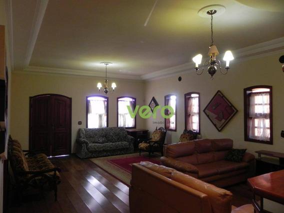 Casa Com 4 Dormitórios À Venda, 422 M² Por R$ 1.600.000,00 - Chácara Letônia - Americana/sp - Ca0152