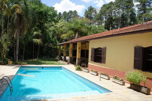 Chácara Em Jarinu-sp - Paraíso - Muito Verde, Piscina, Casa