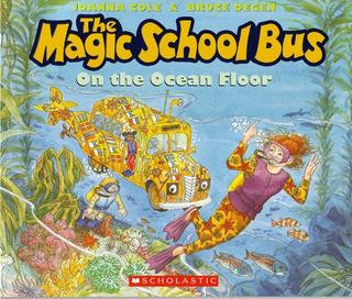 Magic School Bus: On The Ocean Floor - Scholastic Kel Edicio