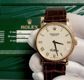 Rolex Cellini De Ouro Amarelo Social , Ano 2013 , Na Caixa !