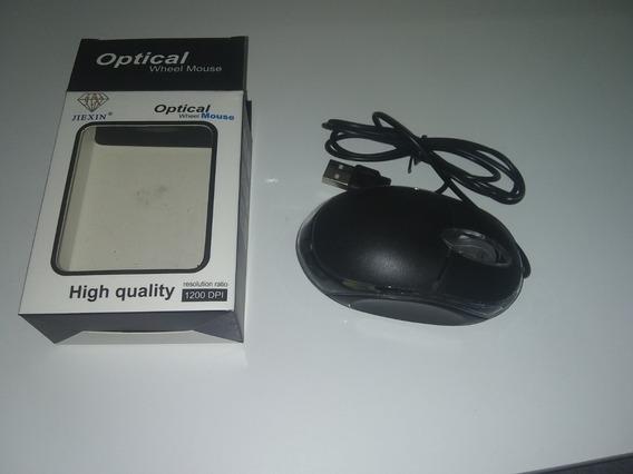 Mouse Optical Wheel High Quality 1200 Dpi. + Brinde Especial