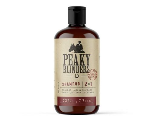 O Shampoo Masculino 2 Em 1 Peaky Blinders Don Alcides