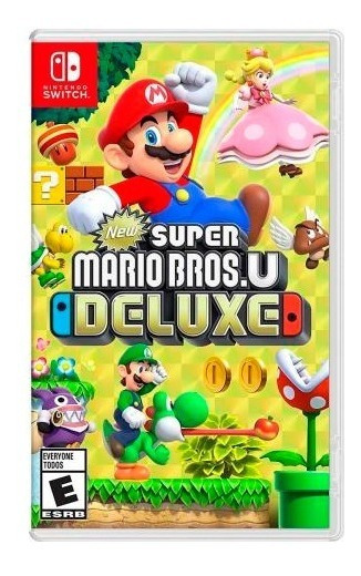 Jogo New Super Mario Bros U Deluxe Nintendo Switch