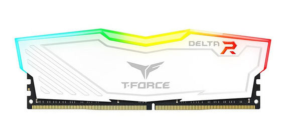 Memoria Team Ddr4 8gb 2666 Mhz Delta White Blanco Rgb