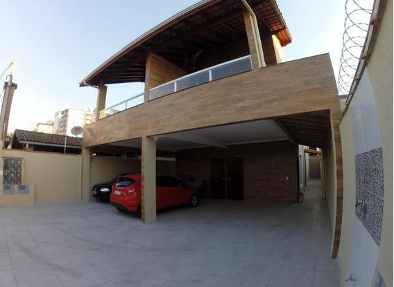 Casa Com 2 Dormitórios Para Alugar, 90 M² Por R$ 1.500,00/mês - Vila Guilhermina - Praia Grande/sp - Ca0204