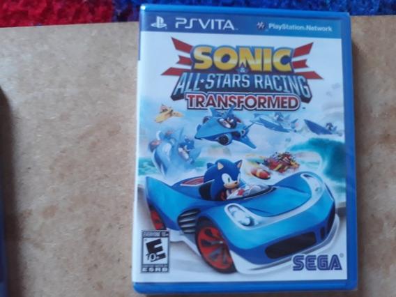 Sonic Racing Lacrado Psvita