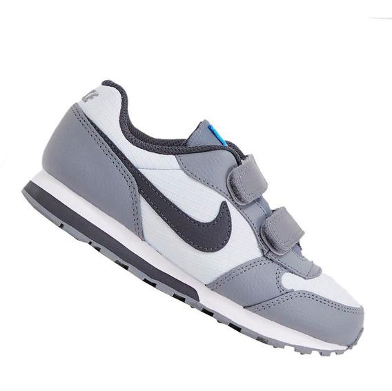 Tênis Nike Menino Infantil Md Runner 2 Cinza 807317015