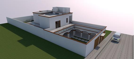 Residencia 4 Recamaras Y 3.5 Baños En 2 Pisos Amplio Jardín