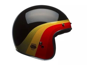 Capacete Bell Custom 500 Chemical Candy Black Gold 62/xl