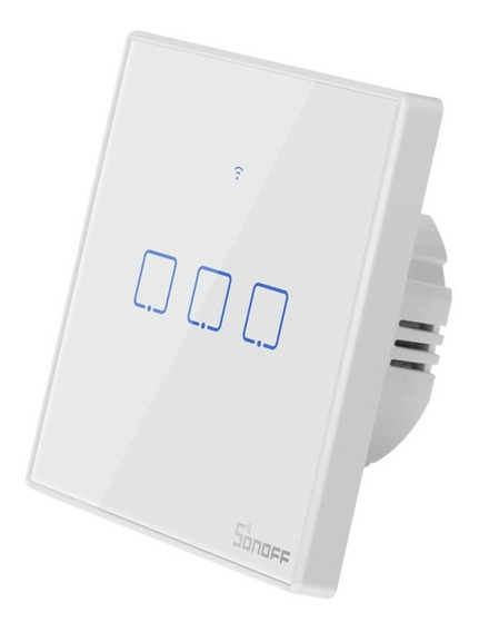 Sonoff Wifi Touch Switch T2eu 3 Gangue